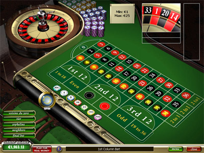 casino play online european roulette play