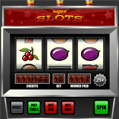 slot machine poker online